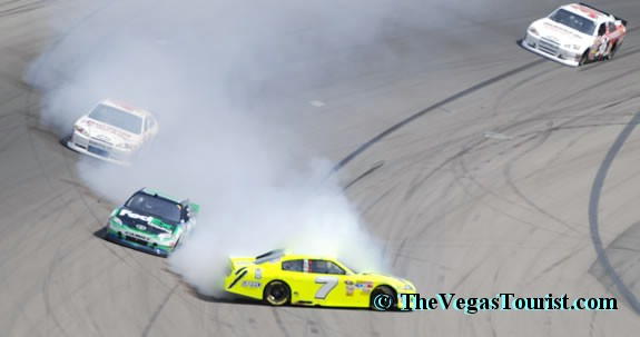 NASCAR weekend in Las Vegas with Sazzy and Ace reporter in las vegas