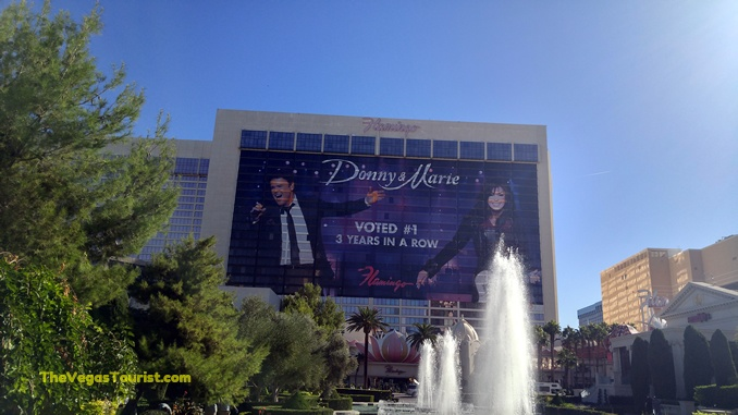 Donny Osmond and Marie Osmond stay in las vegas