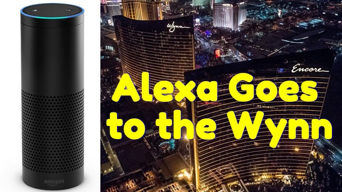 Amazon Echo in every Wynn Resort Suite