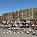 Friday is National Park Fee Free Day