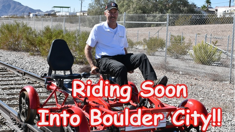To Ride the Rails in Boulder City