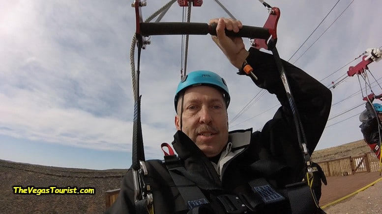 Zip Line at The Grand Canyon West