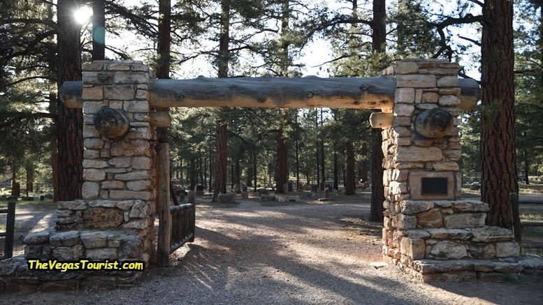 The Grand Canyon Cemetery Entrance