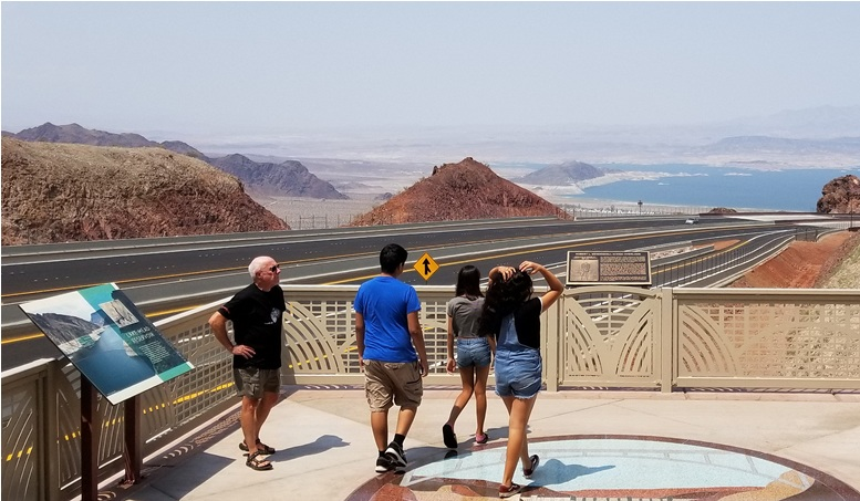 Lake Mead Interstate 11 overlook