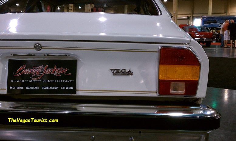 Remember the Vegas? the Barrett-Jackson