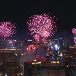 2019 Fireworks on the Las Vegas Strip