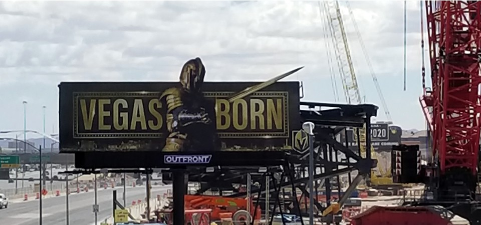 Las Vegas Golden Knights were born Las Vegas