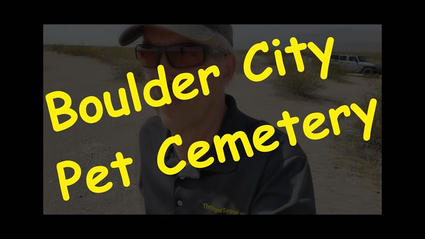 Boulder City Secret Pet Cemetery