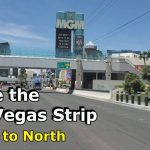 Drive the strip north to south